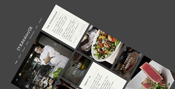 Steakhouse – Responsive Retina WP Restaurant
