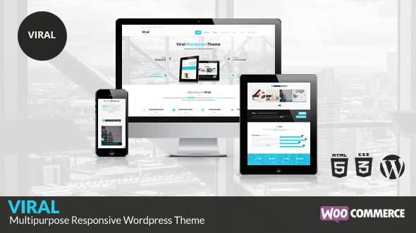 Viral – Ultimate Multipurpose WordPress Theme