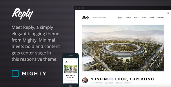 Reply WordPress Theme