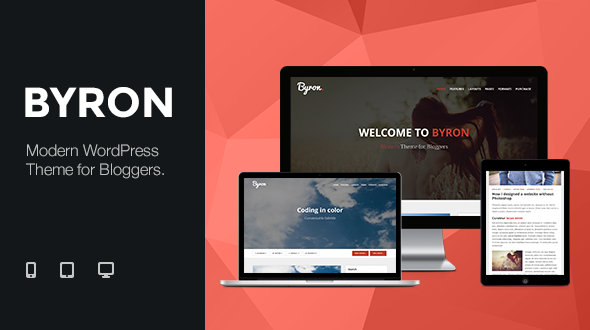 Byron – Modern Theme for Bloggers