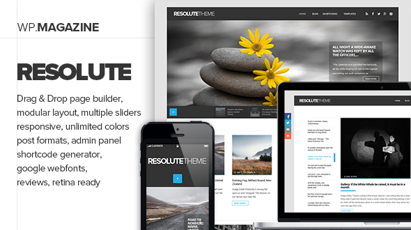 Resolute – Elegant Magazine & Blog Theme