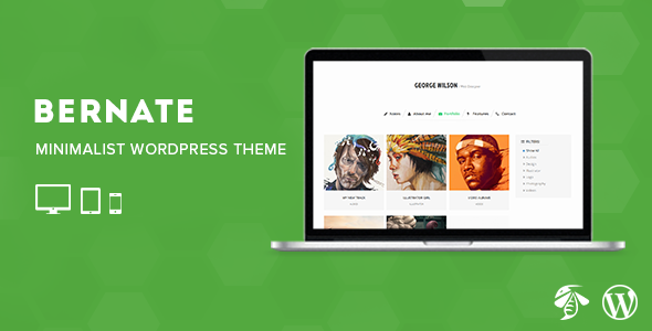 Bernate – Personal WordPress Theme