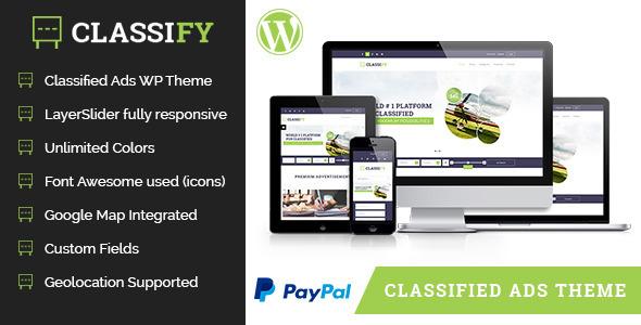 Classify – Classified Ads WordPress Theme