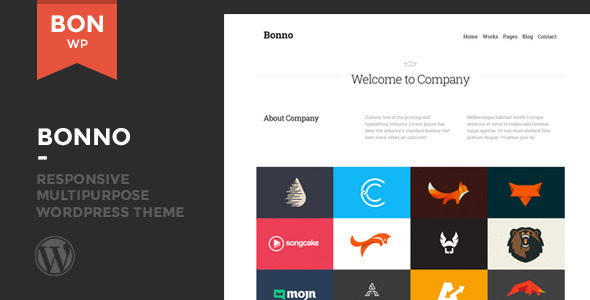 Bonno – Responsive Multipurpose WordPress Theme
