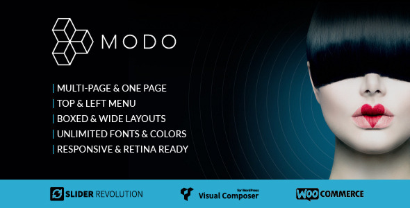 MODO Multi-Purpose Responsive Theme