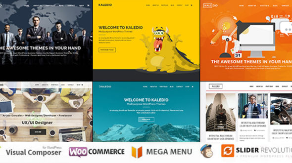 Kaledio – Responsive MultiPurpose WordPress Theme