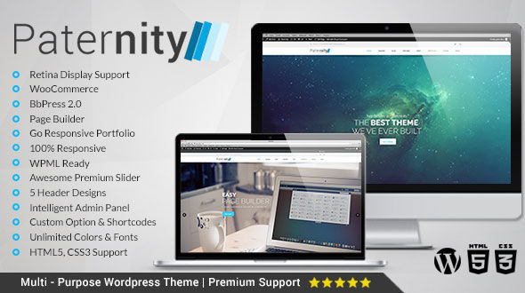 Paternity | Responsive Multi-Purpose Theme