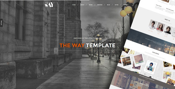The Way – Creative OnePage & MultiPurpose WP Theme
