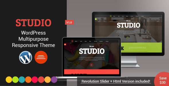 Studio – Multipurpose WordPress Theme