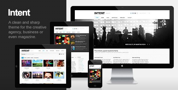 Intent – Business & Portfolio WordPress Theme