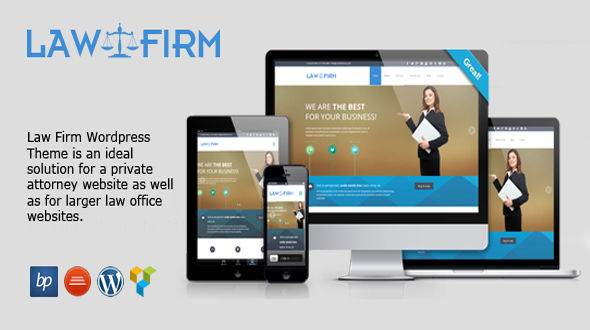 Law Firm – Responsive WordPress Theme