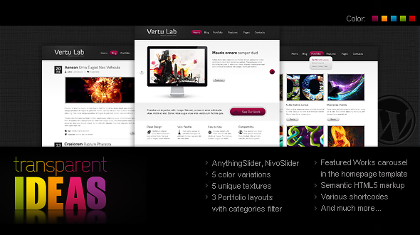 VertuLab – Corporate and Portfolio WordPress theme