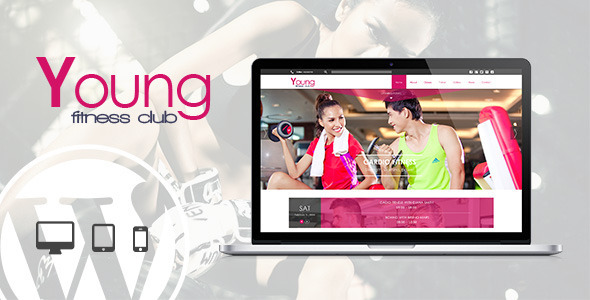 Young Fitness – Spa & Fitness WordPress Theme