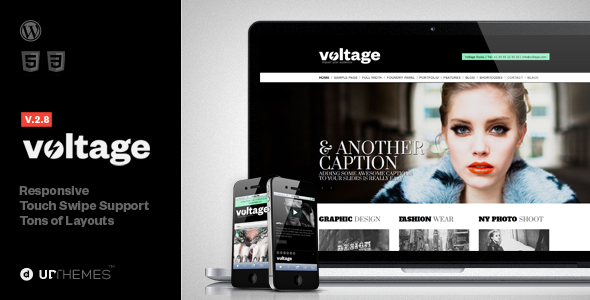 Voltage Creative Responsive WordPress Theme