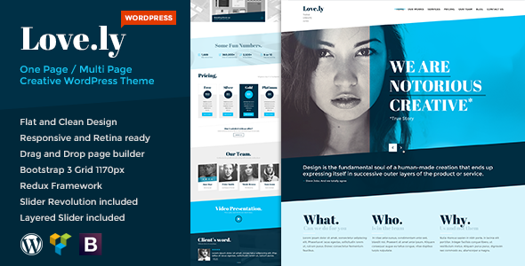 Love.ly – Simple & Elegant WordPress theme