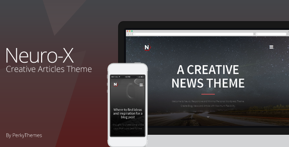 Neuro-x | Blogging Minimal Theme