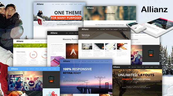 Allianz – Multi Purpose Responsive WordPress Theme
