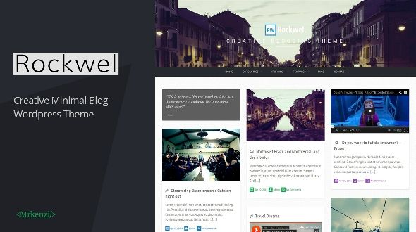 Rockwel – Personal Creative Blog Theme