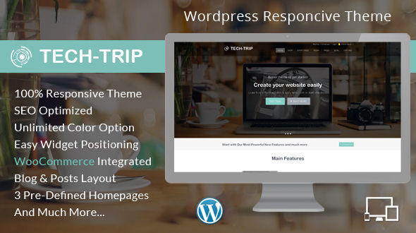 Tech Trip – WordPress Multipurpose Theme