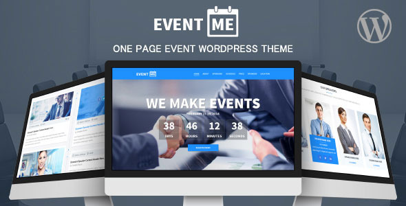 EventMe – Event Landing WordPress Theme