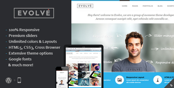 Evolve | Responsive Multi-Purpose Theme