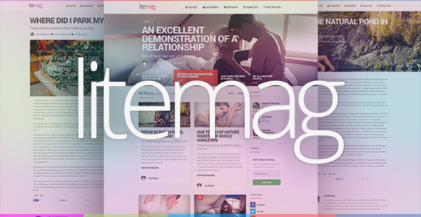 LiteMag – Easy to use Minimalist Magazine Theme