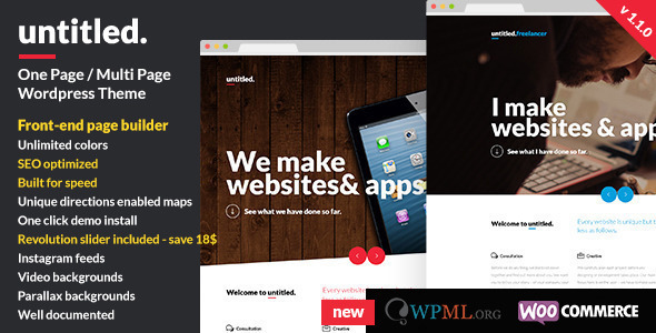 Untitled – Creative Multipurpose WordPress Theme