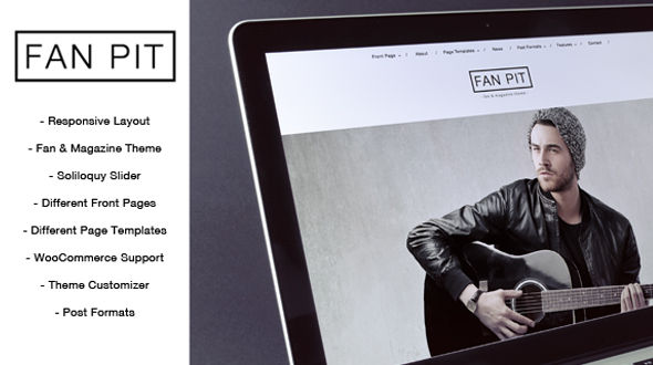Fan Pit – Fan and Magazine WordPress Theme