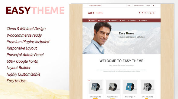 Easy | Responsive Multipurpose Theme