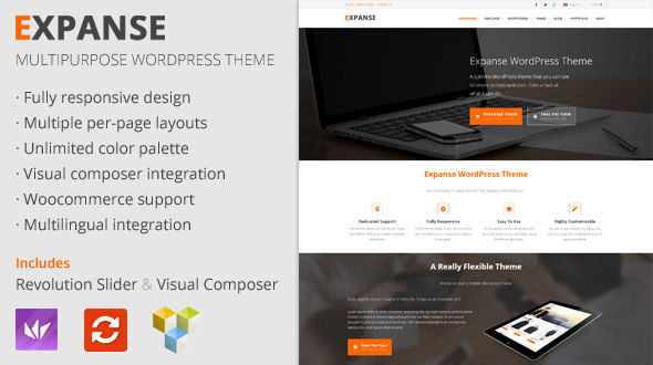 Expanse – Versatile Multipurpose WordPress Theme