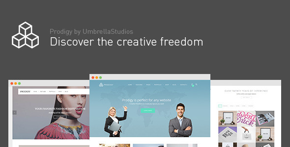 Prodigy – Impressive Multi-Purpose WordPress Theme