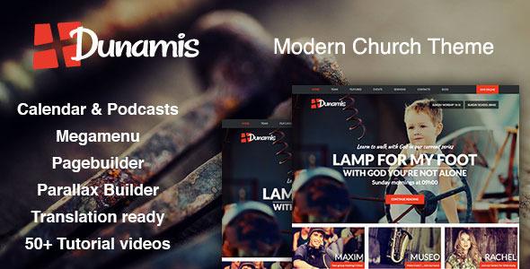 Dunamis – Modern Church theme