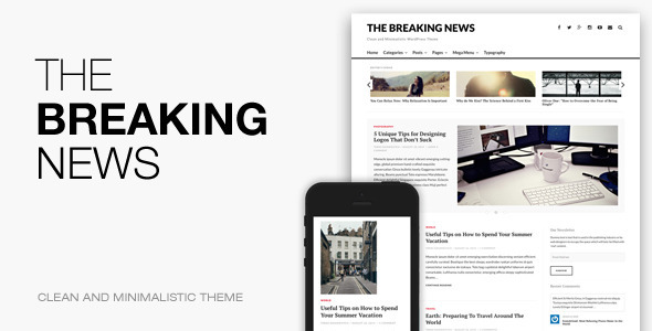 The Breaking News – Responsive WordPress Theme
