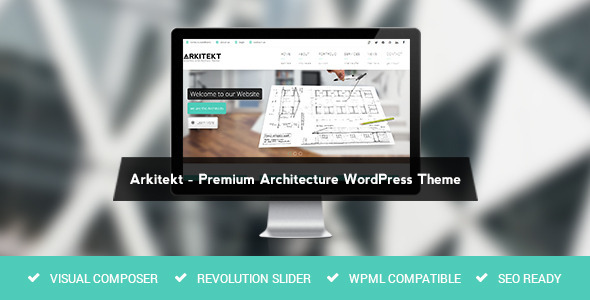 Arkitekt – Premium Architecture WordPress Theme
