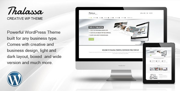 Thalassa Multipurpose Responsive WordPress Theme