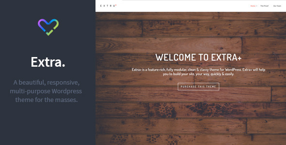 Extra – Multipurpose Responsive WordPress Theme