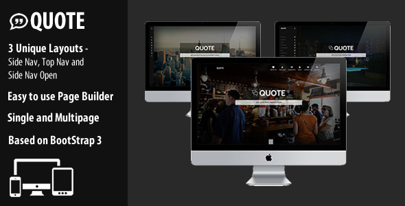 Quote – Responsive Multi Purpose Theme