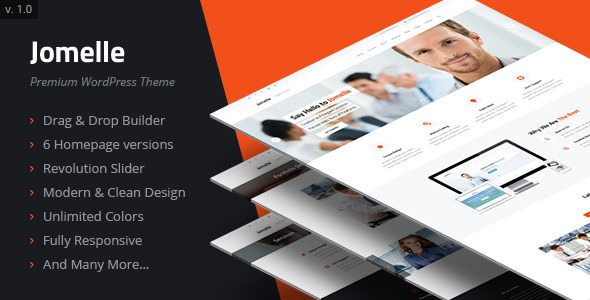 Jomelle – Multipurpose Business WordPress Theme