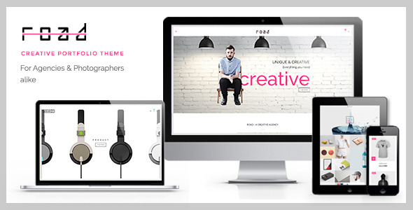 Road – Agency / Photography Portfolio Theme