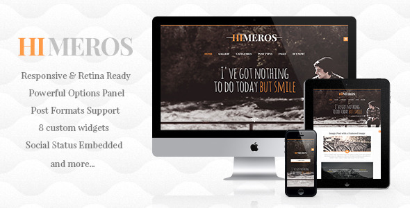Himeros – Personal WordPress Blog Theme
