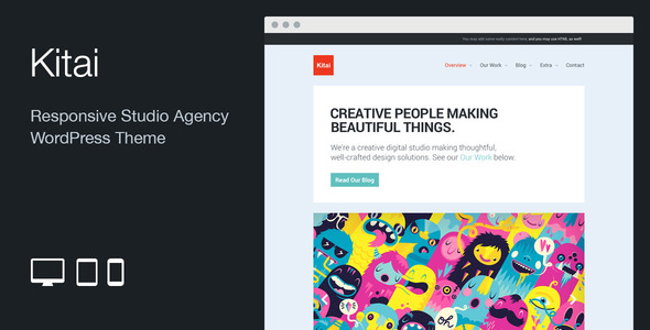 Kitai: Responsive Studio Agency WordPress Theme