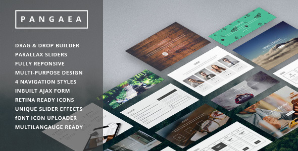 Pangaea – Creative Multipurpose WordPress Theme