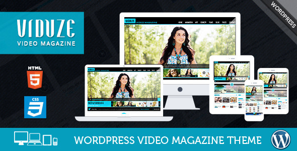 Viduze – Responsive Video Magazine WordPress Theme