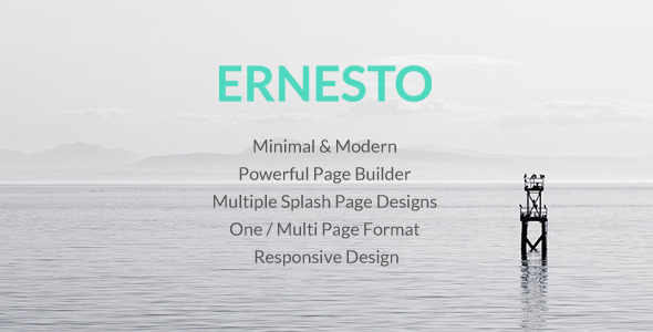 Ernesto – Responsive Multipurpose WordPress Theme