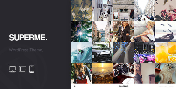 Superme – Portfolio WordPress Theme