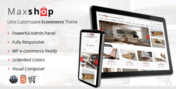 Maxshop – Responsive WP e-Commerce Theme