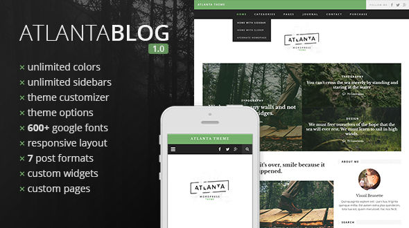 Atlanta WordPress Blog Theme