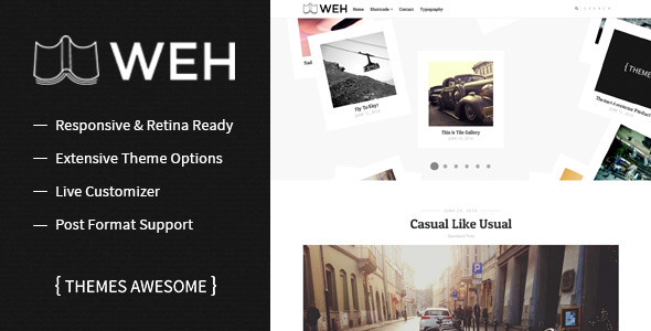 WEH – Responsive Blog Theme