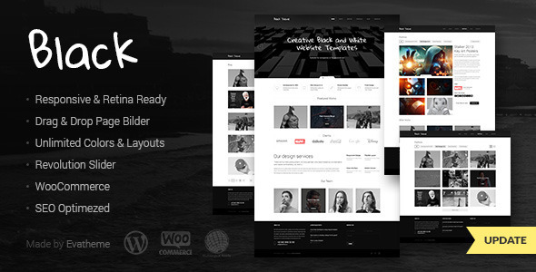 Black – Premium Multi-Purpose WordPress Theme