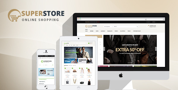 SuperStore – Woocommerce WordPress Theme
